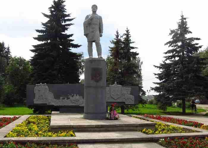 Памятник С. И. Дежневу.
